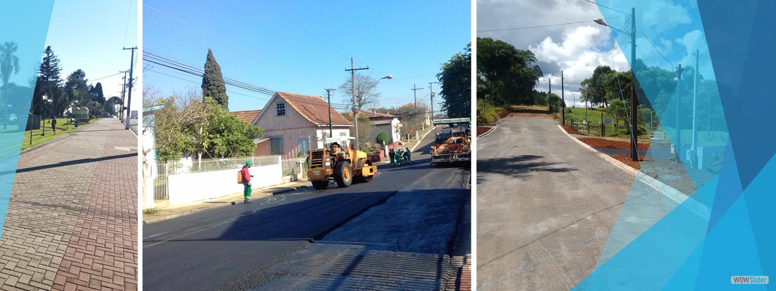 Calçadas, Pavimentação e Recape Asfáltico